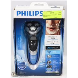 PHILLIPS AQUA TOUCH WET/DRY SHAVER