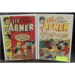 PAIR OF LI'L ABNER COMIC BOOKS FROM 1954