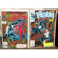 SPECIAL VENOM COMICS WITH EFFECT FOIL COVERS