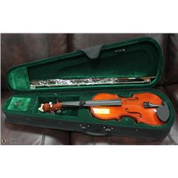 NEW VIOLIN WITH CASE.