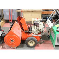 """ARIENS 23"""" SNOWBLOWER 8 HP, NEW ELECTRIC START AND"""