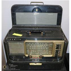 VINTAGE ZENITH SHORT WAVE RADIO