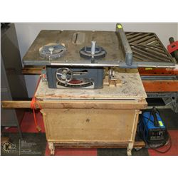 BEAVER POWER TOOLS TABLE SAW WITH STAND
