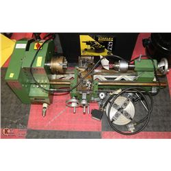THOMAS SKINNER AND SON HEAVY DUTY METAL LATHE WITH