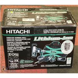HITACHI 18VOLT COMBO KIT