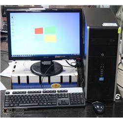 HP PAVILION DESKTOP iNTEL i5 vPRO/WIN 10 /500 GB