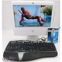 APPLE IMAC W/ OPERATING SYSTEM INSTALLED/MS OFFICE