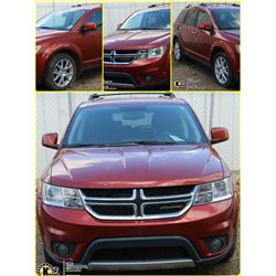 FEATURED UNRESERVED 2013 DODGE JOURNEY R/T