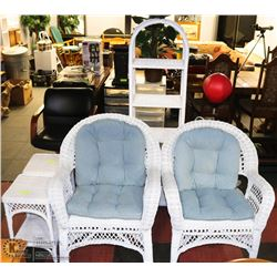 5 PC WICKER FURNITURE SET