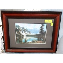 "DAVID DAASE "" MORAINE LAKE "" PAINTING"