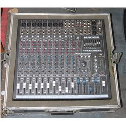 MACKIE CFX12 MIXER WITH ROAD CASE