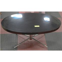 "BLACK LACQUER COFFEE TABLE 36""Lx20""Wx18""H"