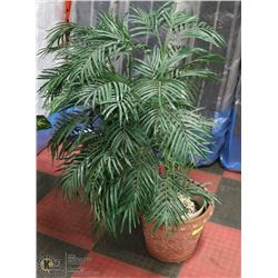 4' ARTIFICIAL TREE IN CERAMIC STYLE PLANTER