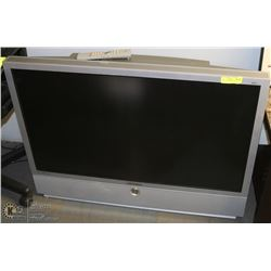 """SAMSUNG 43"""" REAR PROJECTION TV WITH REMOTE."""