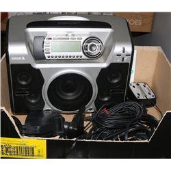 STARMATE REPLAY SIRIUS SATELLITE RADIO PLUG AND