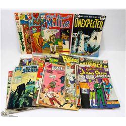 BOX OF VINTAGE SUPERHERO COMICS