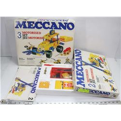 LOT OF TWO BOXED MECCANO SETS