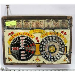 1920S GALLOPING DOMINOES ARCADE GAME