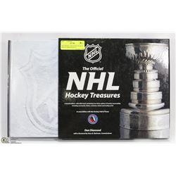 NHL HOCKEY TREASURES BOOK