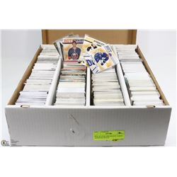 BOX OF OVER 3000 HOCKEY CARDS - ASSORTED SETS &