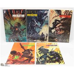 ALIENS VS. PREDATOR COMICS --- FULL SERIES