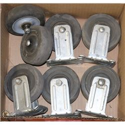 "FLAT WITH HEAVY DUTY 4""-CASTORS - TOOLS"