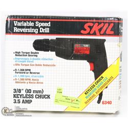 SKIL VARIABLE SPEED REVERSING DRILL,