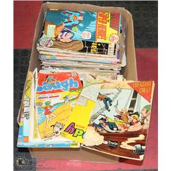 BOX FULL OF VINTAGE COMICS