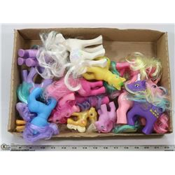 FLAT OF MY LITTLE PONY FIGURES