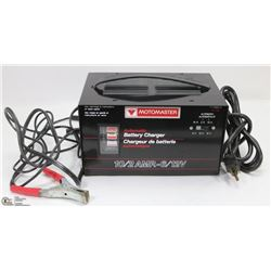 MOTOMASTER AUTOMATIC BATTERY CHARGER - 1012AMP