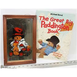 "FLAT OF ""THE GREAT BIG PADDINGTON"" BOOK & PICTURE"
