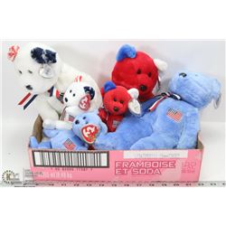 TY USA BEANIE AND BUDDY BEAR COLLECTION