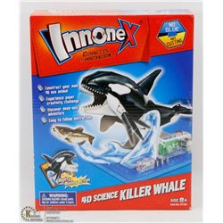 NEW INNONEX 4D SCIENCE KILLER WHALE MODEL KIT