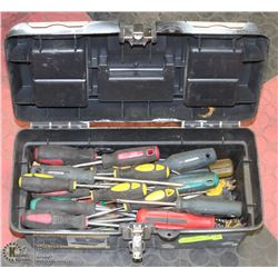 TOOLBOX  OF SCREWDRIVERS
