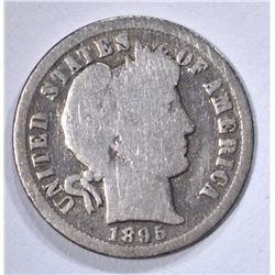 1895-O BARBER DIME, VG