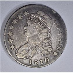 1810 BUST HALF DOLLAR, XF
