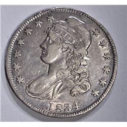 1834 BUST HALF DOLLAR, XF