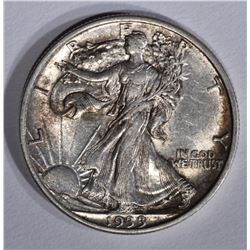 1933-S WALKING LIBERTY HALF DOLLAR, CH BU