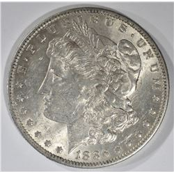 1886-O MORGAN DOLLAR, AU/UNC