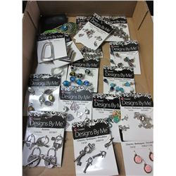 Flat of New Assorted Charms for Jewelry making and more