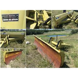 DEGELMAN 14' 2 WAY DOZER BLADE WITH MOUNTS