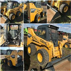 2006 GEHL 6640E SKIDSTEER WITH BUCKET