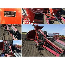 2010 RENN RGB12 12' GRAIN BAGGER WITH TELEVEYOR AND LONG HITCH