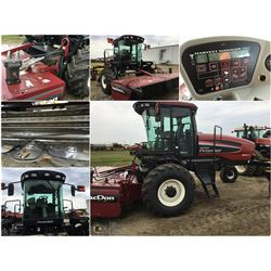 2009 MAC DON PREMIER M150 DAUL DIRECT SWATHER WITH 13' R80 ROTARY DISC BIND