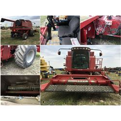 1998 CASE IH 2388 ROTARY COMBINE WITH 14' 1015 PU