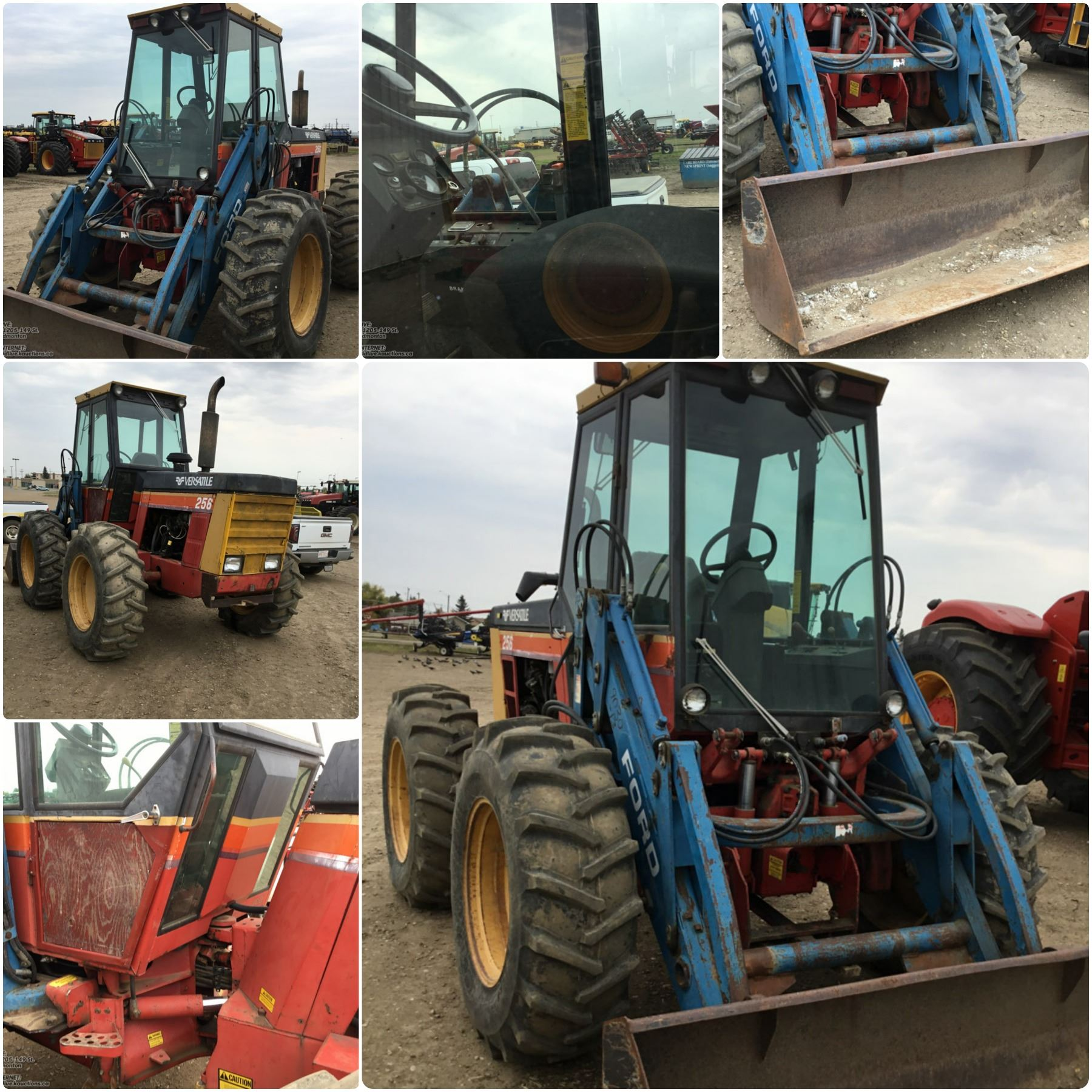 1984 Versatile 256 Bi Directional With Loader And Bucket