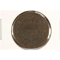 1864 US TWO CENT PIECE (FINE)