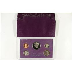 1984 US PROOF SET (WITH BOX)