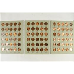 1975-2013 LINCOLN CENT ALBUM COMPLETE 90 COINS