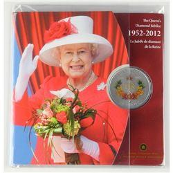 Queens Diamond Jubilee Coin 1952-2012 Folio